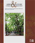 March Issue of Arboriculture & Urban Forestry Now Online
