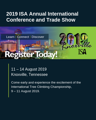 Registration is Open for the 2019 ISA Annual International Conference and Trade Show