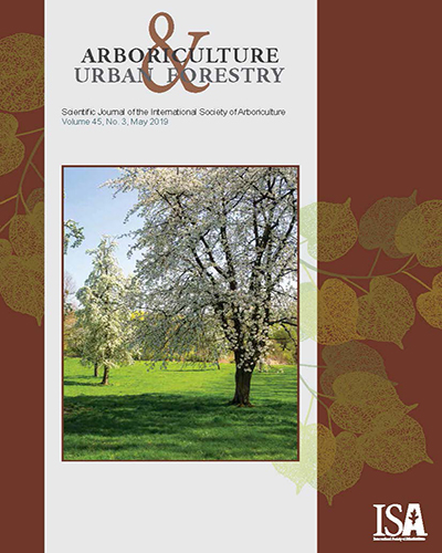 May issue of Arboriculture & Urban Forestry Now Online!
