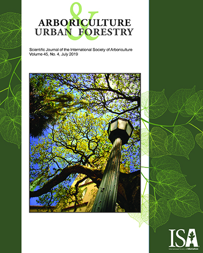 July Issue of Arboriculture & Urban Forestry Now Online