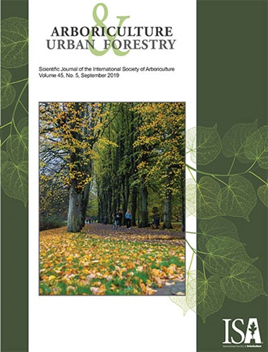 September Issue of Arboriculture & Urban Forestry Now Online