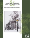 January Issue of Arboriculture & Urban Forestry is Now Online!