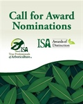 Nomination Period is Open for the 2020 ISA Awards Program