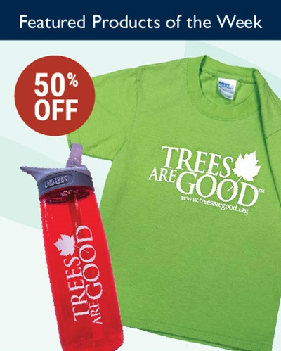 Take 50% off Select TreesAreGood® Products