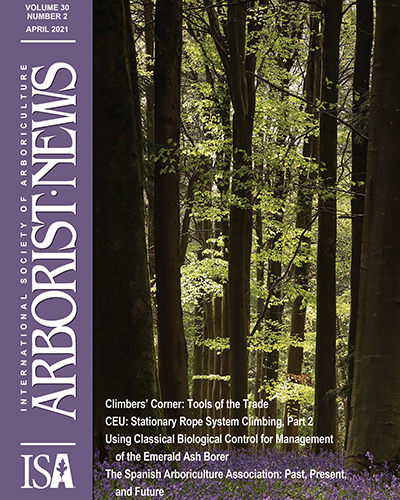 April 2021 Issue of Arborist News Now Online