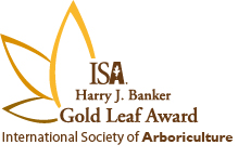 Gold Leaf Award logo